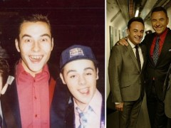 David Walliams shares epic throwback snap of him with Ant and Dec