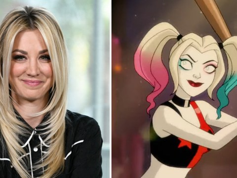 Kaley Cuoco and Lake Bell face off in first look at Harley Quinn animated series