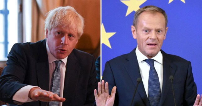 Boris Johnson demands end to Irish backstop in letter setting out Brexit demands