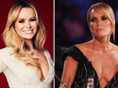 Amanda Holden, 48, really loves when you talk about her 'tired old breasts'