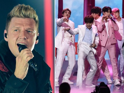 Backstreet Boys' Nick Carter calls for BTS or Jonas Brothers to win MTV VMAs best group