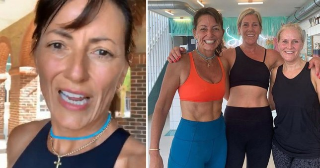 Davina McCall forgets where she parked her car after workout