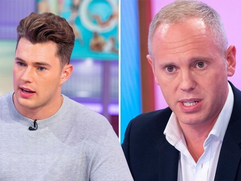 Curtis Pritchard fuelling sexuality speculation for money? Judge Rinder slams Love Island star over GMB interview