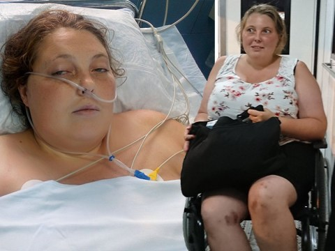 British mum almost died on Space Jam water slide after slicing legs open