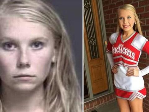Cheerleader 'murdered newborn baby and buried her in garden days after school prom'