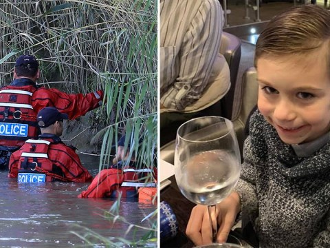 Body found in river confirmed as Lucas Dobson who slipped into water while fishing with dad