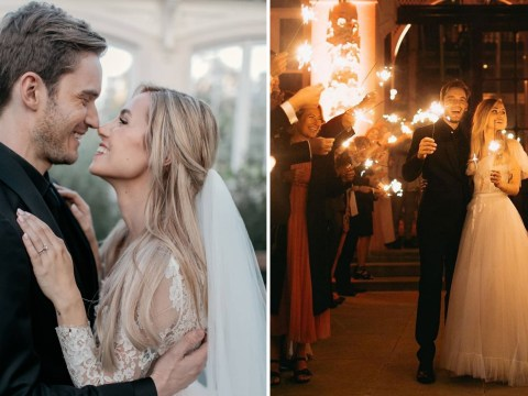 Inside PewDiePie and Marzia Kjellberg's wedding day as YouTubers marry after eight years together