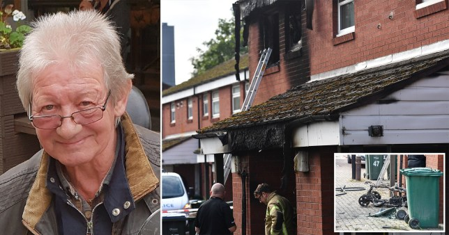 Malcolm Turner, 69, died at the scene in Coventry