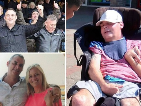 Wife of dad left disabled by thugs wants criminals to pay NHS to care for victims