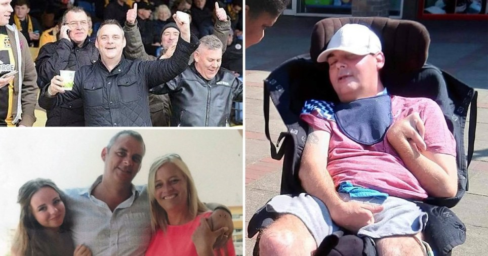 Simon Dobbin was brutally attacked by football hooligans in Southend four years ago