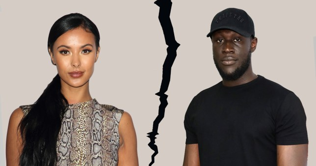 Maya Jama and Stormzy split