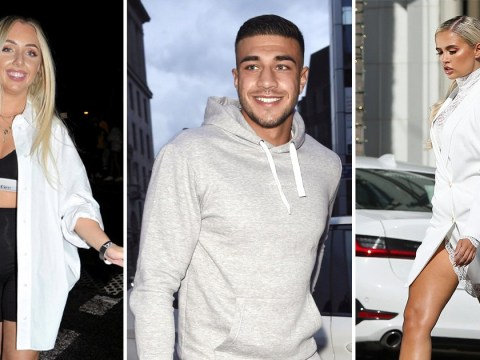 Love Island's Tommy Fury parties with ex-girlfriend while Molly-Mae Hague lives her best life in LA