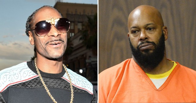 Snoop Dogg and Suge Knight