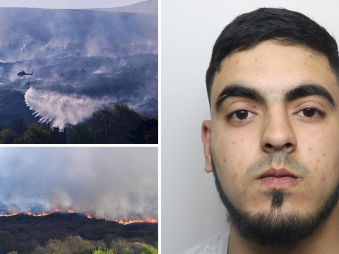 Ilkley Moor arsonist jailed for over two years