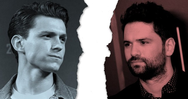 Tom Holland and Dan Trachtenberg Uncharted
