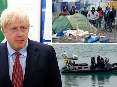 Boris Johnson warns illegal Channel migrants: 'We will send you back'