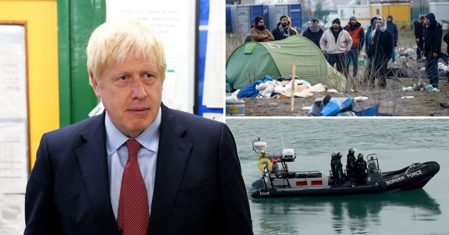 Boris Johnson warns illegal Channel migrants: 'We will send you back.'