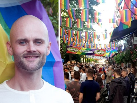 Neighbours fly rainbow flags in support of man who suffered homophobic abuse