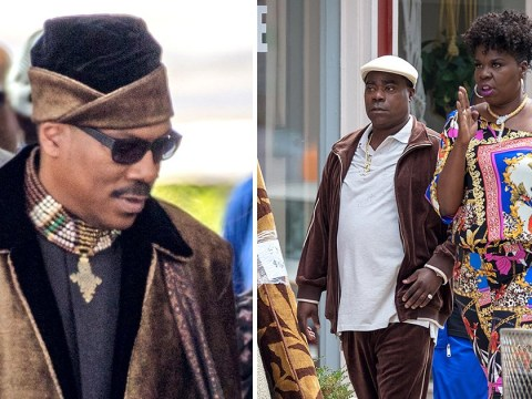 First pictures as Coming to America 2 kicks off filming and Eddie Murphy is back as Prince Akeem in full regalia