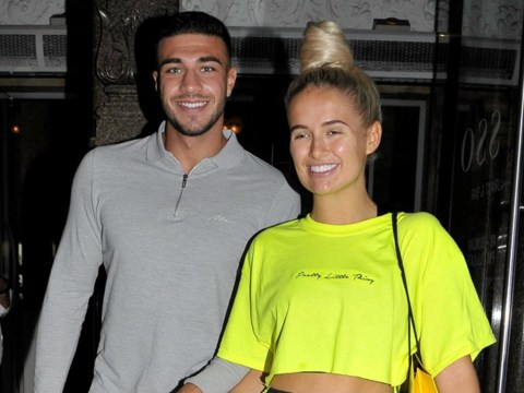 Love Island's Molly-Mae Hague and Tommy Fury ignore 'laughing gas' drama as they reunite for date night