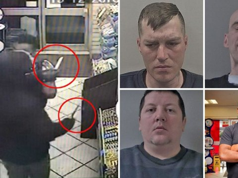 Shopkeeper pinned to floor with knife to his throat in cigarette robbery