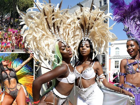 Notting Hill carnival in pictures as day two of festival hits heat records