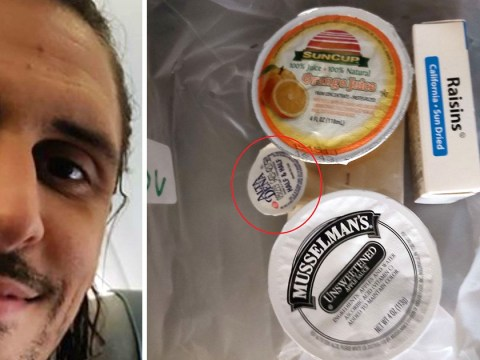 Vegan given breakfast of raisins, apple sauce and milk on Thomas Cook flight