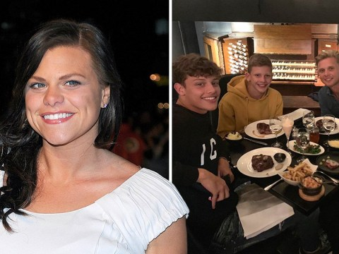 Jade Goody's sons spitting image of late mother as family celebrates Bobby's GCSE results
