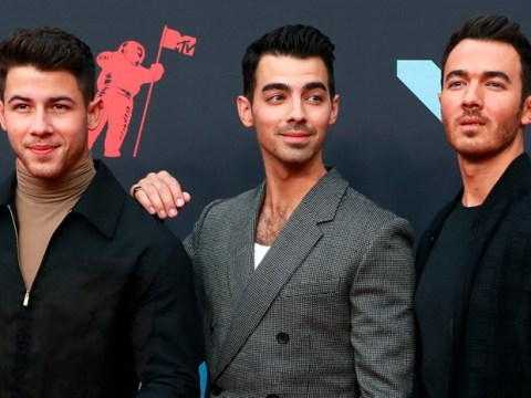 Jonas Brothers take to MTV VMAs for first time in 11 years as Nick admits he's 'feeling blessed'