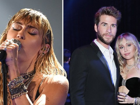 Miley Cyrus debuts emotional song Slide Away at MTV VMAs after Liam Hemsworth split