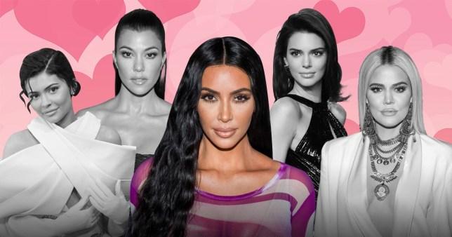 Kylie Jenner, Kourtney Kardashian, Kim Kardashian, Kendall Jenner and Khloe Kardashian