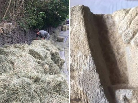 Couple's front wall turns out to be remains of ancient medieval church
