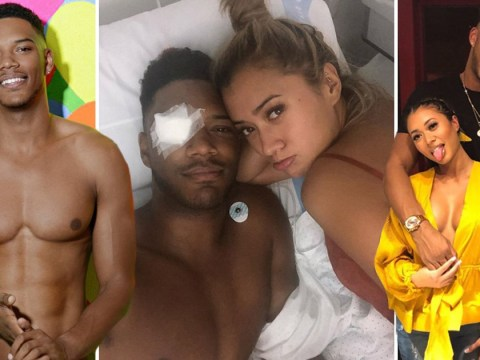 When was Theo Campbell on Love Island, how long has he been dating Kaz Crossley and what happened to his eye?