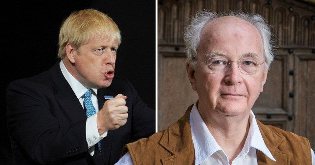 Philip Pullman faced backlash for tweets about hanging Boris (Picture: Rex/PA)