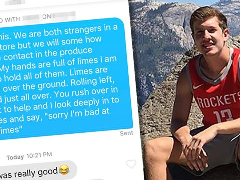 Tinder boy struck out with the same chat-up line on two girls… who happened to be roommates