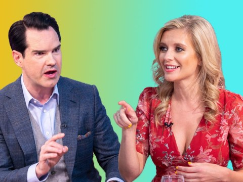Jimmy Carr doesn't mind when fans are offensive to him on