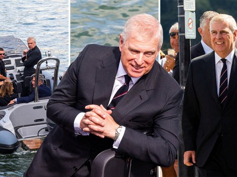 Prince Andrew pictured for first time since Epstein victim told him 'come clean'