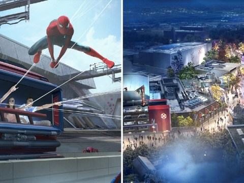 Disneyland Paris launches new Spider-Man ride as part of Avengers themed land