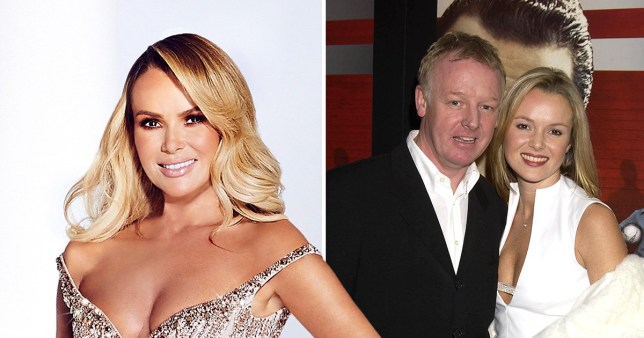 Amnda Holden, and pictured with ex-husband Les Dennis