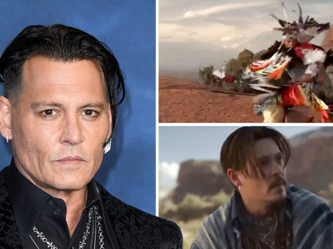 Johnny Depp insists Dior ad was 'made with respect' amid 'cultural appropriation' claims