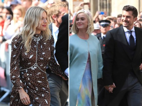 Katy Perry, Orlando Bloom and James Blunt among guests at Ellie Goulding's wedding