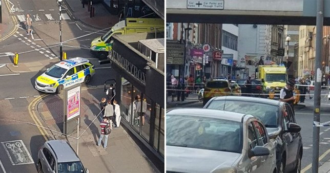A 21-year-old is fighting for his life after being stabbed in Croydon