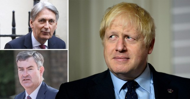 Boris has launched a war of words with Tory Brexit rebels who threaten to vote to block no-deal (Picture: Rex - AP)