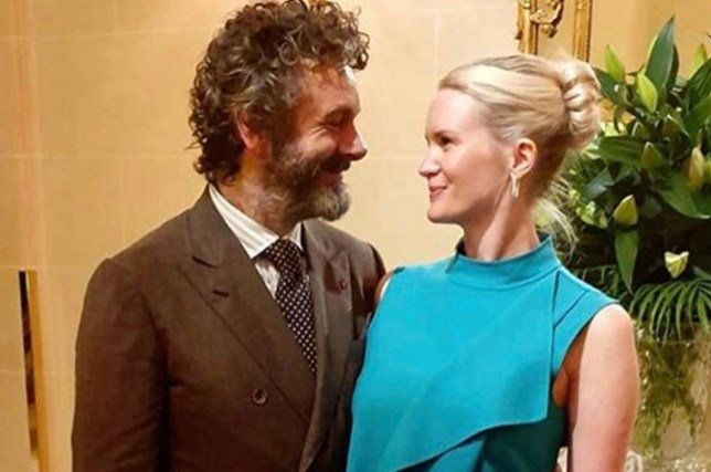 Michael Sheen and his new girlfriend