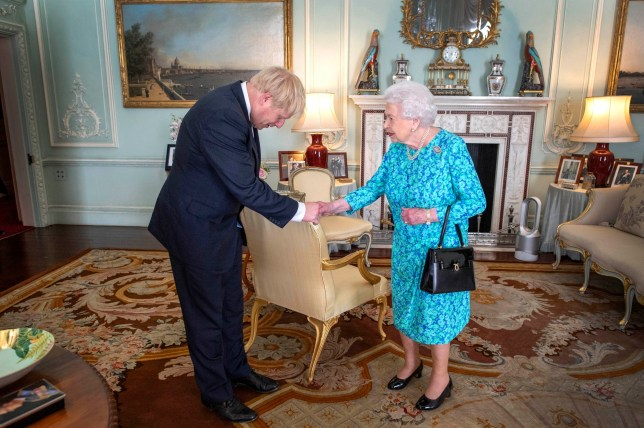 Image result for Queen approves Boris Johnson's request to suspend Parliament