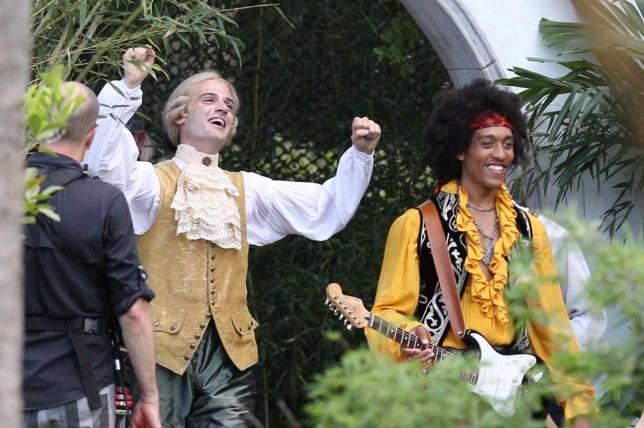 Mozart and Jimi Hendrix