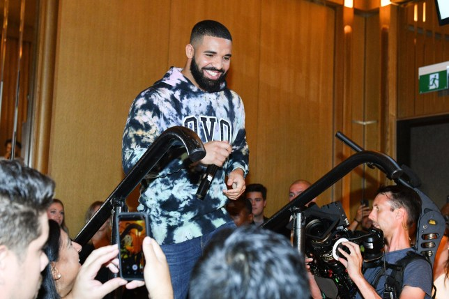 Drake attends the Uninterrupted Canada Launch held at Louix Louis