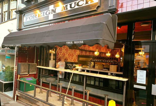 A restaurant in Saltash, Cornwall, accused of racism because it's called Foreign Muck