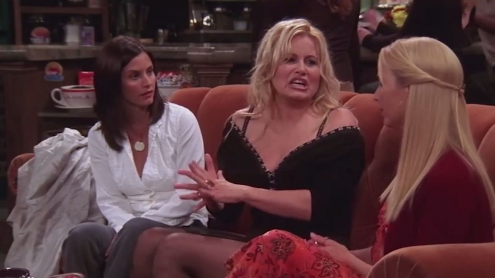 Jennifer Coolidge and friends picture: ch4 METROGRAB
