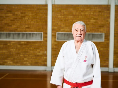Great granddad has been teaching judo for 68 years
